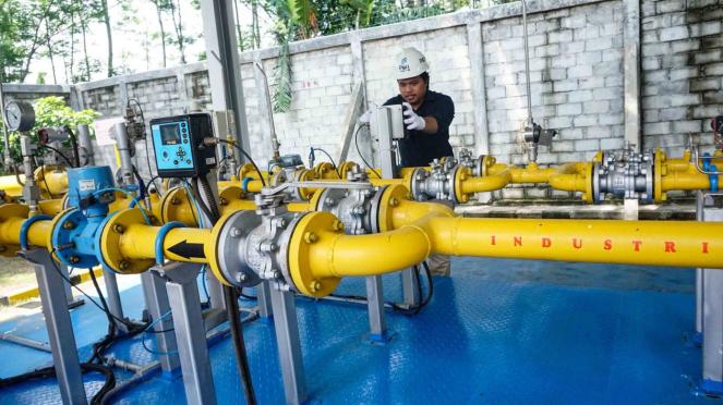 Energi Baik PGN Siaga 24 Jam untuk Industri dan Rumah Tangga