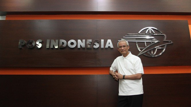 Dirut PT. Pos Indonesia Gilarsi W. Setijono
