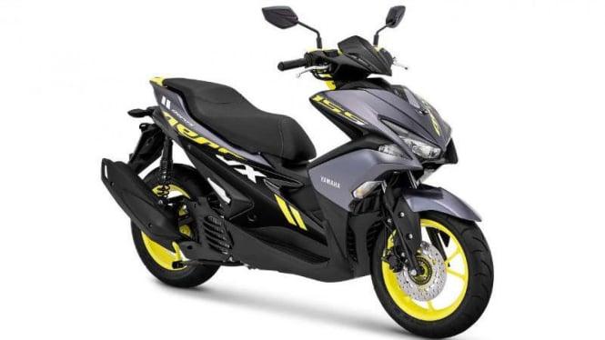 Yamaha Aerox 155 warna baru