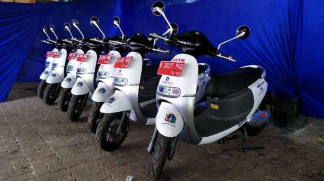 Motor listrik Viar Q1 milik Pemprov DKI Jakarta