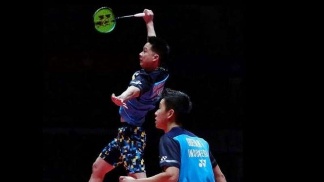 Hajar Duo Jepang, Kevin/marcus Lolos Ke Semifinal Malaysia Masters