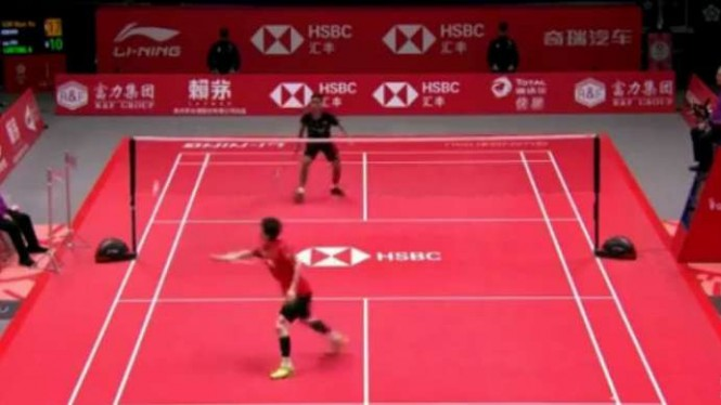 Son Wan Ho vs Anthony Ginting.