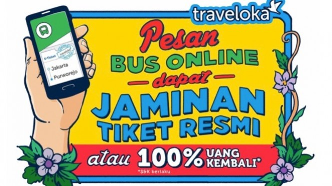 3 Fakta Keunggulan Pesan Tiket Bus di Traveloka - VIVA