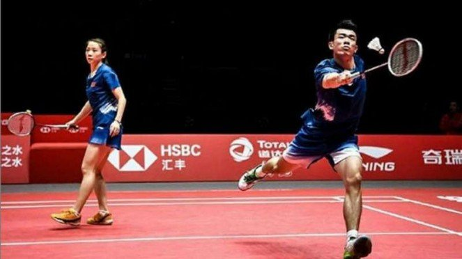 Zheng Siwei/Huang Yaqiong.