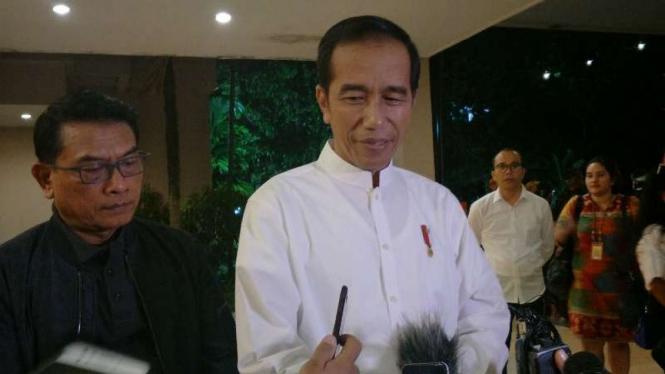 Jokowi di Pekanbaru, Riau