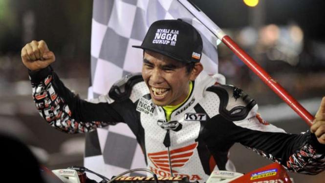 Pembalap Indonesia, Gerry Salim.
