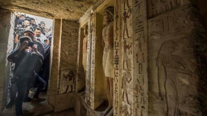 Makam Imam Besar Tak Tersentuh 4400 Tahun, Ada Sisi Menariknya
