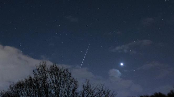 Hujan meteor Geminid pada 2018