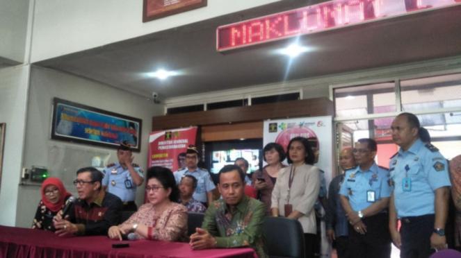 Peringatan Hari HIV/AIDS Sedunia di Lapas Cipinang, Jakarta Timur