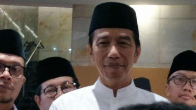 Jokowi Pede 91 Persen Kader Pkb Pilih Dirinya