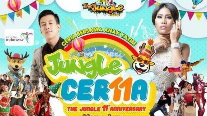 Ulang Tahun Ke-11, The Jungle Bagikan Es Krim Gratis Dan Banyak Hadiah