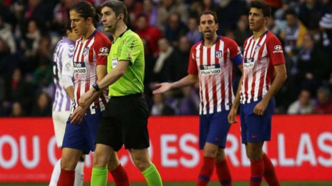 Atletico Madrid Kehilangan Filipe Luis 3 Pekan
