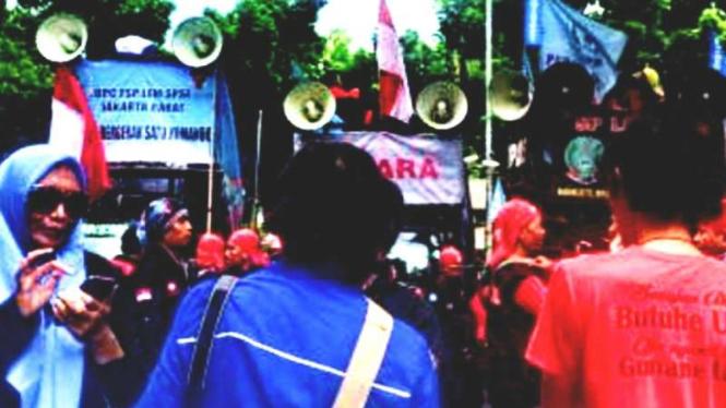 Federasi Pekerja Tuntut Anies Naikan Upah Minimum Provinsi Dki 2019