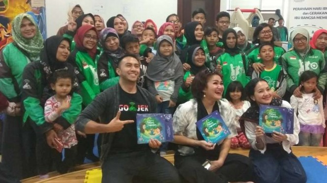 Gojek Tingkatkan Literasi Pengemudi Wanita