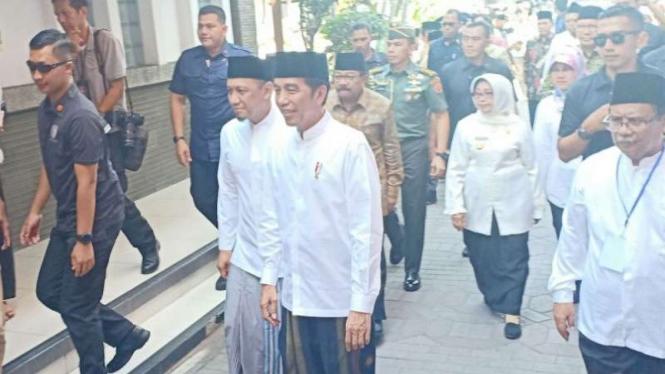 Resmikan Museum Pendiri Nu, Jokowi Ingatkan Teladan Hasyim Asy'ari