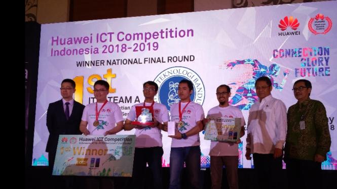 Itb Raih Juara Kompetisi Huawei Ict Indonesia
