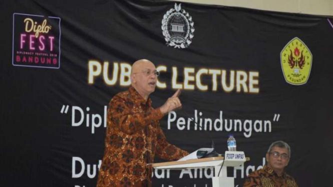 Direktur Jenderal Protokol dan Konsuler Kemlu, Andri Hadi