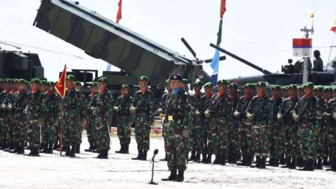 Komando Gabungan Wilayah Pertahanan (Pangkogabwilhan) I bermarkas di Natuna.