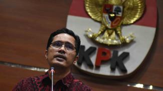 Juru Bicara Komisi Pemberantasan Korupsi (KPK), Febri Diansyah.
