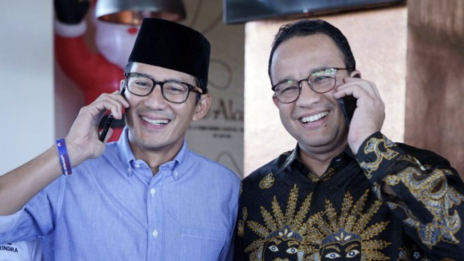 Sandiaga Uno Kangen, Anies: Welcome Back Bro