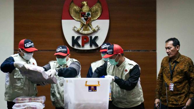 Ilustrasi penyidik KPK