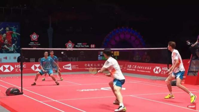 Hiroyuki Endo/Yuta Watanabe vs Li/Liu