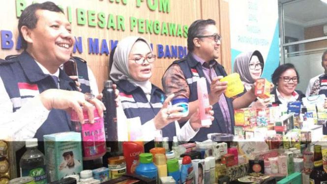 BPOM bongkar pabrik kosmetik ilegal
