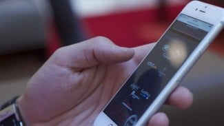 Ilustrasi aplikasi ponsel.