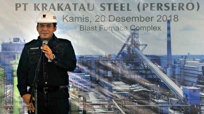 Direktur Utama PT Krakatau Steel (Persero) Tbk (PT KS), Silmy Karim