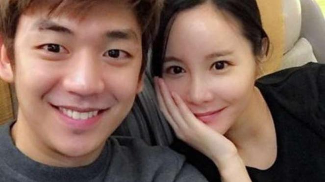 Legenda ganda putra Korsel, Lee Yong-dae bersama sang istri, Byun Sumi