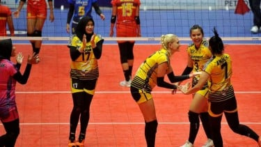 Pebola voli putri Jakarta PGN Popsivo