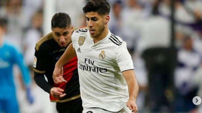 Winger Real Madrid, Marco Asensio.