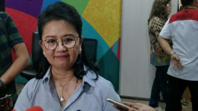 Pelaksana tugas Sekretaris Jenderal KOI, Hellen Sarita de Lima