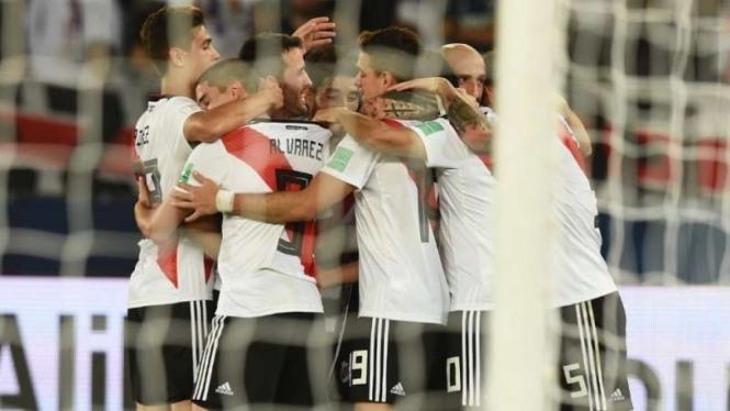 River Plate melaju ke final Piala Dunia Klub 2018
