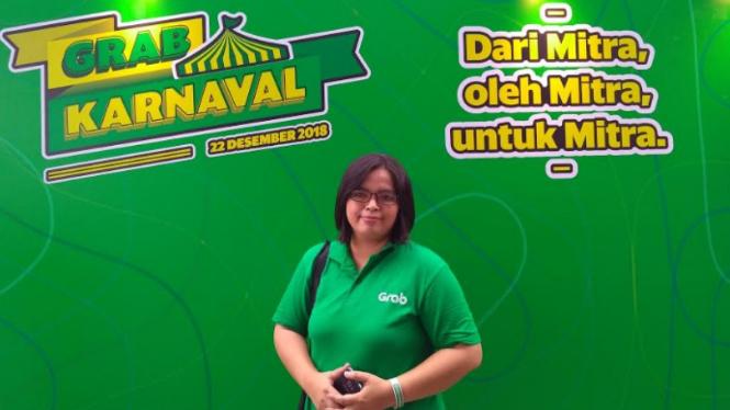 Driver Grabcar yang single mom, Saami