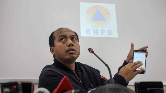 Kepala Pusat Data dan Informasi BNPB Sutopo Purwo Nugroho.