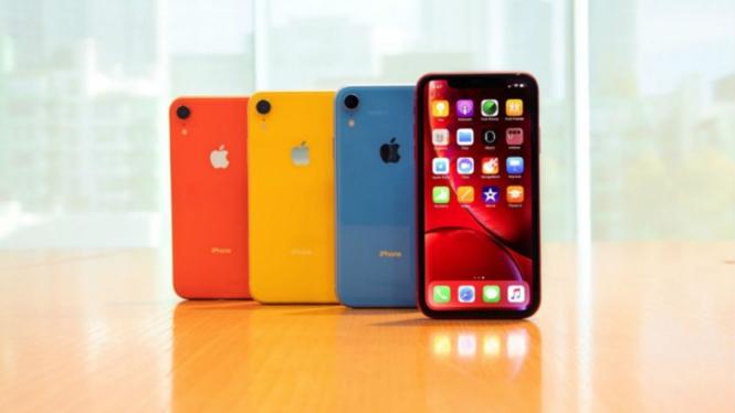 Perangkat iPhone.