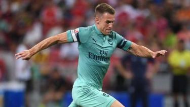 Gelandang Arsenal, Aaron Ramsey