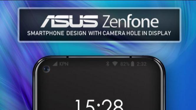 Smartphone ASUS Zenfone terbaru.