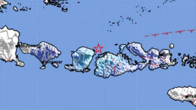 Gempa bumi mengguncang Sumbawa.