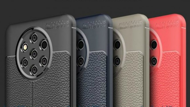 Bocoran Nokia 9 dengan lima kamera