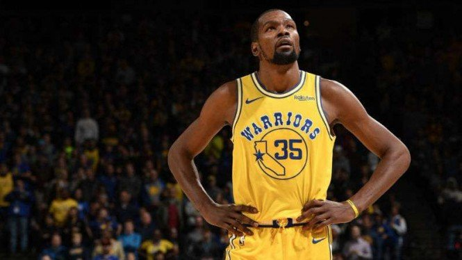 Pemain Golden State Warriors, Kevin Durant.