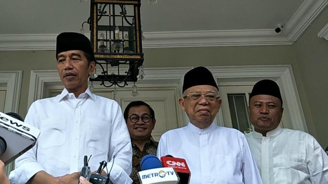 Berangkat Ke Lokasi Debat, Jokowi: Pokoknya Mantul