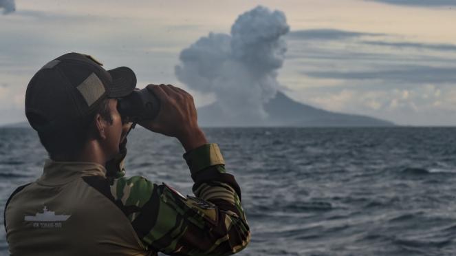 Aktivitas Gunung Anak Krakatau