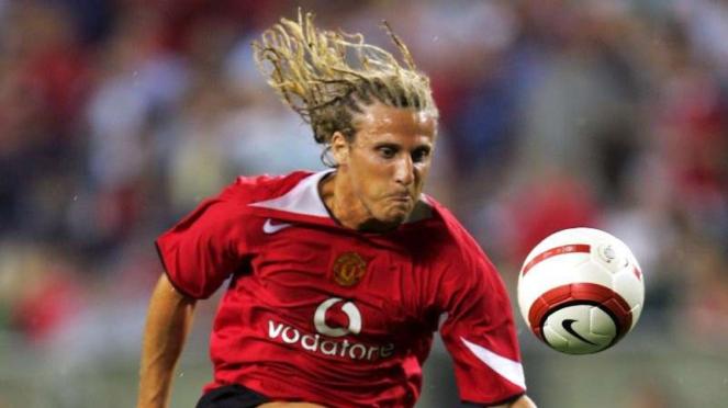 Diego Forlan saat membela Manchester United