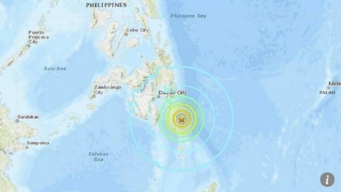 Gempa bumi di Filipina