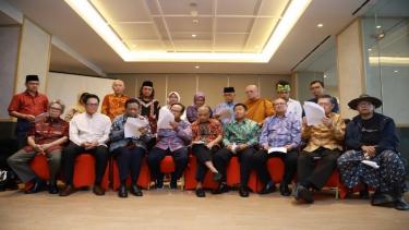 Tokoh lintas agama membacakan Risalah Jakarta