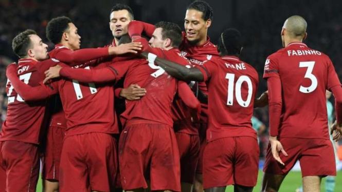 Para pemain Liverpool.