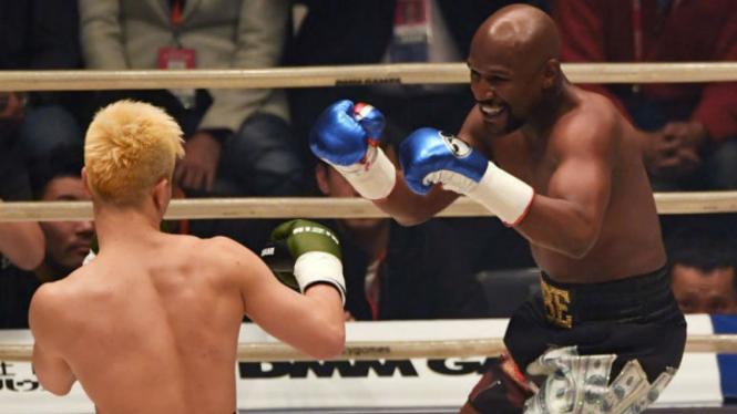 Duel Floyd Mayweather versus Tenshin Nasukawa