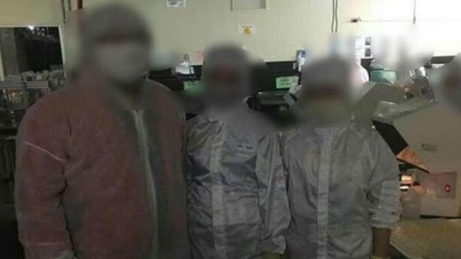 Mahasiswa diduga dipekerjakan secara paksa sebagai buruh pabrik di Taiwan.